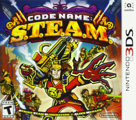 Videojuego Code Name Steam Nintendo 3ds Gamer