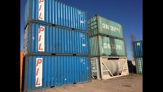 Contenedores Maritimos 20 Containers Nacionalizados.