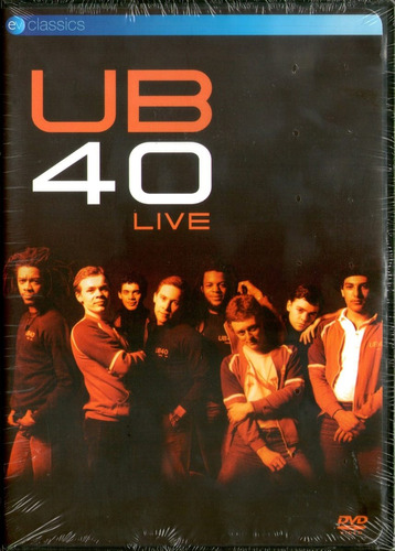Ub40 Live 1982 Dvd Nuevo Us Bob Marley Yellowman Tosh Ciudad