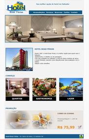 Site Para Hotel Com Painel De Administração
