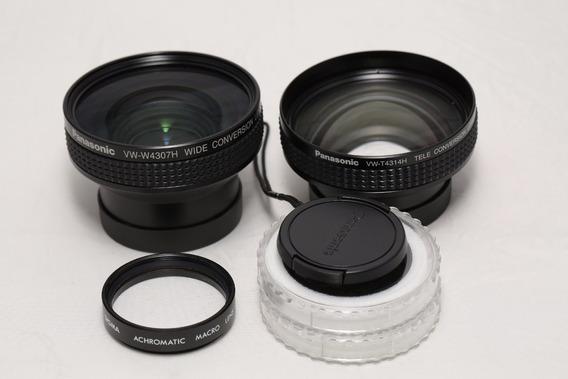 3 Lentes Para Filmadora Panasonic Ag Hmc 40 / 41