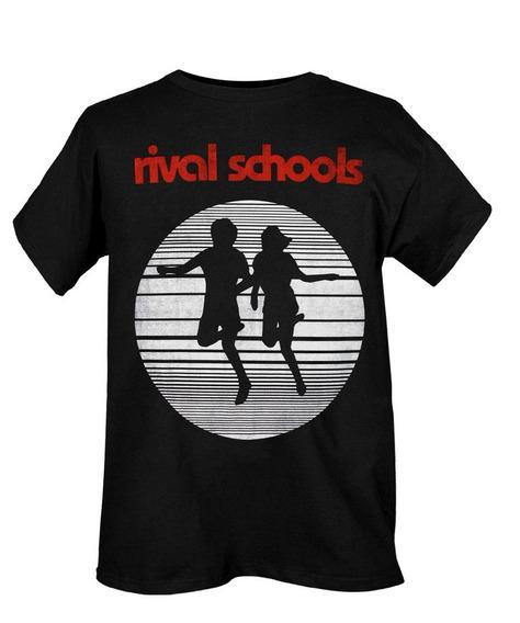 Hot Topic Playera Rival Schools Run Slim-fit T-shirt M