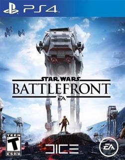 :: Star Wars Battlefront Para Playstation 4 Ps4 Nuevo ::