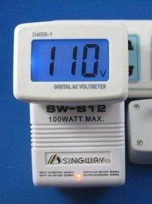 Imagen 1 de 6 de Medidor Lcd De Voltaje Ac 80-300v