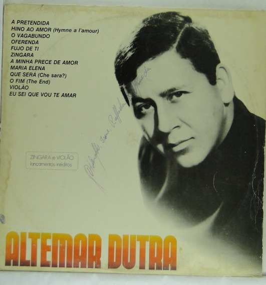 Lp Altemar Dutra - Sucessos Vol.4 - A144