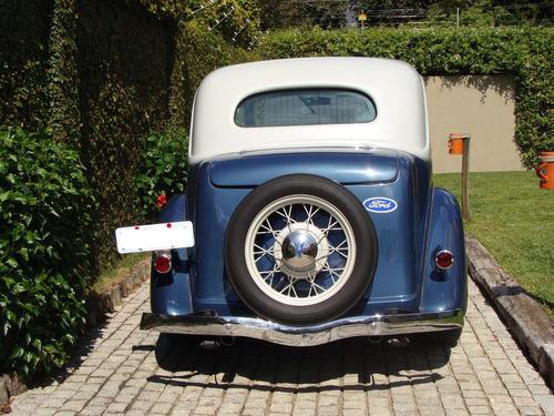 Ford 1935. Coupé. Impecável