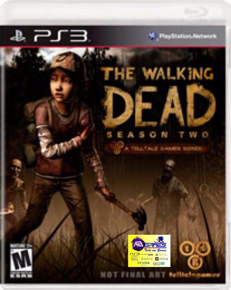 The Walking Dead Season 2 Ps3 Original Novo Lacrado Ab Games