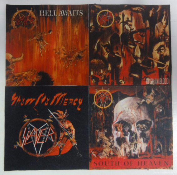 Patches Slayer - Reing In Blood, Hell Awaits, Show No Mercy