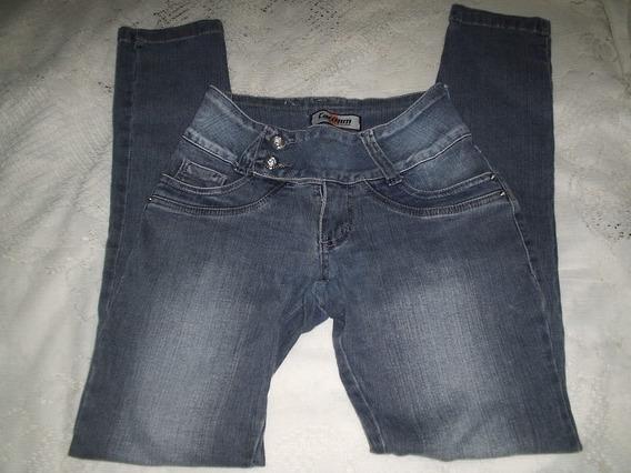 Calça Jeans Feminina Carmim Tamanho 36