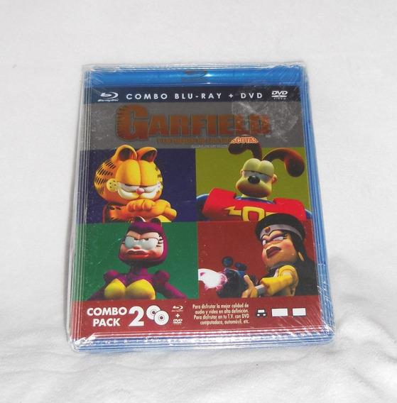 Garfield Y La Fuerza De Las Mascotas! Combo Bluray + Dvd