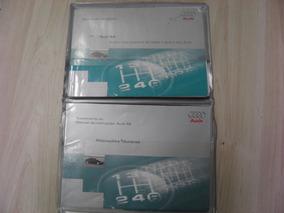Manual Do Proprietário Audi A6 1999 Completissimo Raro