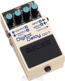 Pedal Boss Dd-7 - Digital Delay - Wood Music
