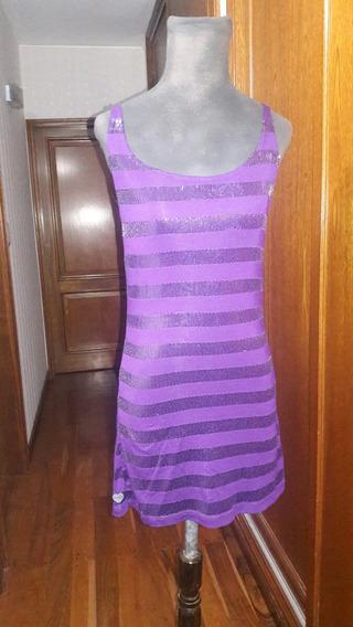Vestido De Lentejuelas Violeta Muaa Talle S