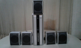 Parlantes Multimedia 5.1 Howland Ctrol Remoto Impecables