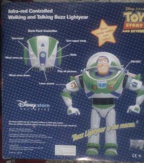 Juguete Toy Story Muñeco Buzz Lightyear Con Control Remoto