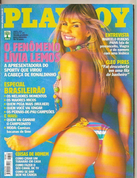 Playboy Lívea Lemos * Frete Grátis*