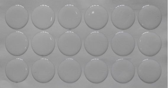 Protetor Adesivo Multiuso Silicone 18 Peças De Vidro Moveis