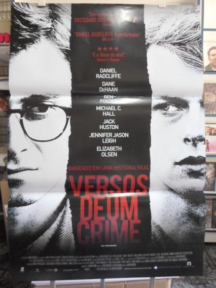 Poster Versos De Uma Crime - 64 X 94