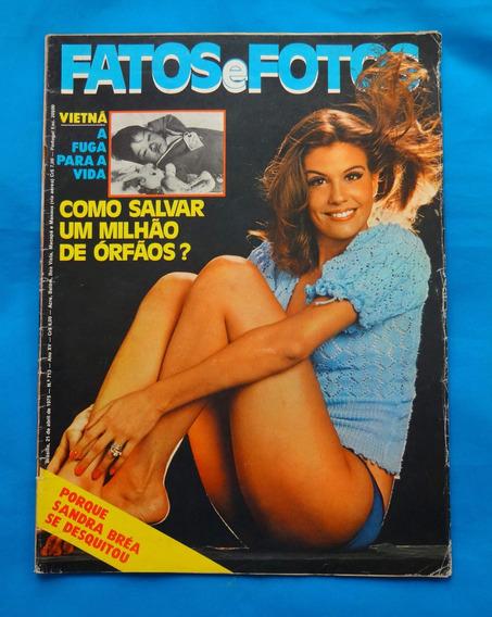 Revista Fatos E Fotos Sandra Bréa / Glória E Tarcísio 1975