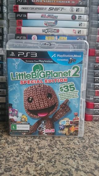 Little Big Planet 2 Special Edition Ps3 Frete R$10