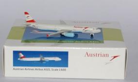 Airbus Austrian A321 Escala 1:600 Schabak