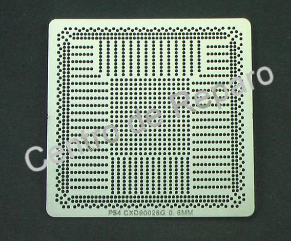 Stencil Ps4 Cxd90026g Para Reballing Bga Calor Direto