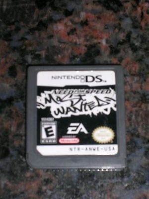 Need For Speed Most Wanted Nintendo Ds Excelente