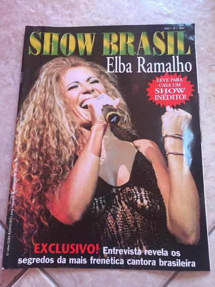 Revista Show Brasil 1 Elba Ramalho Entrevista Ano 1997 D956
