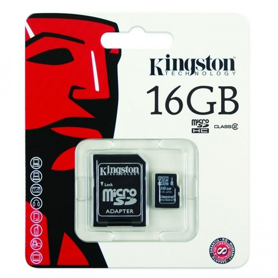 Cartao De Memoria Kingston Microsdhc 16gb