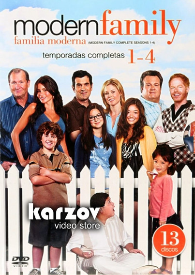 Modern Family Familia Moderna Boxset Temporadas 1 2 3 4 Dvd