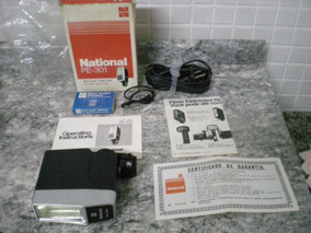 Flash National Pe-301 Ac Eletronci Flash Ac/dc Operation