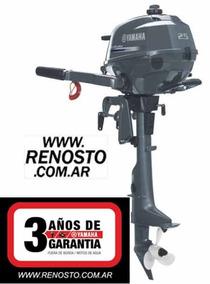 Motores Yamaha 2,5hp 4 Tiempos Pata Corta - Renosto