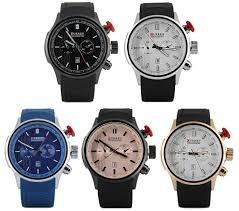Relógio Curren 8175 Novo Barato