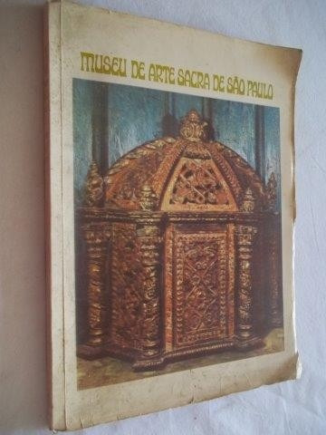 * Livro - Museu De Arte Sacra De São Paulo 1970