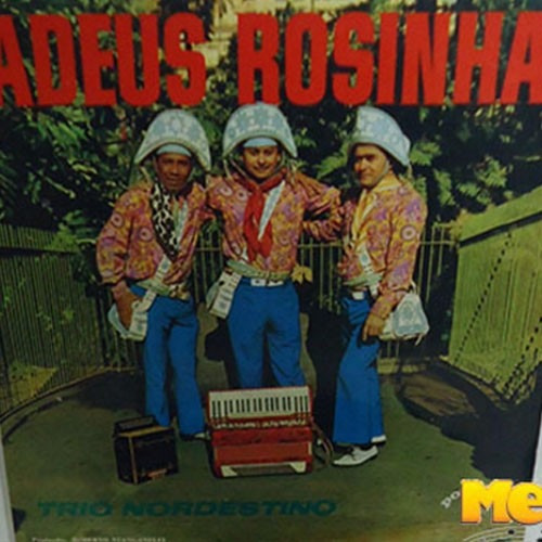 Trio Nordestino 1970 Adeus Rosinha Lp Capa Laminada Forró