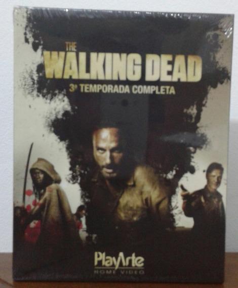 The Walking Dead - 3ª Temporada - Blu-ray - 4 Discos