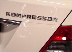 Kompressor Emblema Adesivo Mercedes Original Porta Malas