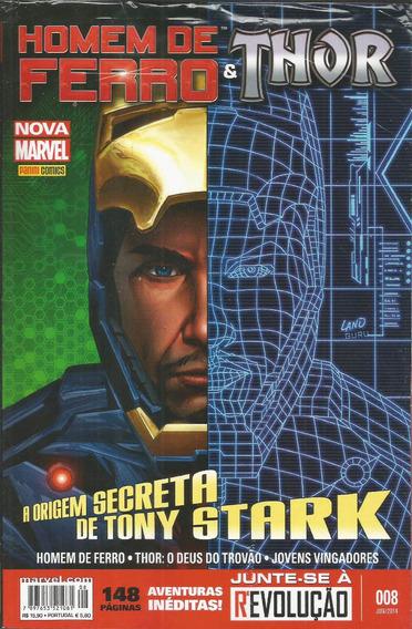 Homem De Ferro & Thor 8 - Panini 08 - Bonellihq Cx78 G19
