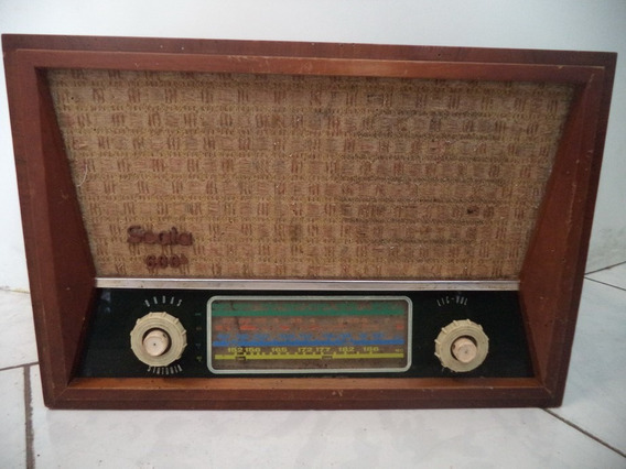 Rádio Antigo Scala 600/coleção/decoração/transistor/leia