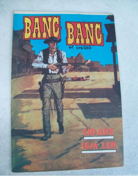 Bang Bang Nº 1 - Buck Jones - Kid Colt - Editora Gorrion
