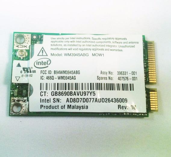Placa Wireless Wifi Para Notebook Hp 530 / 407576-001