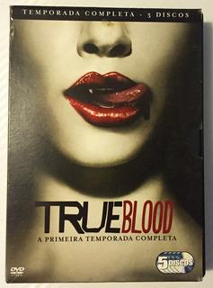 5 Dvds - Série - True Blood - 1a Temporada Completa