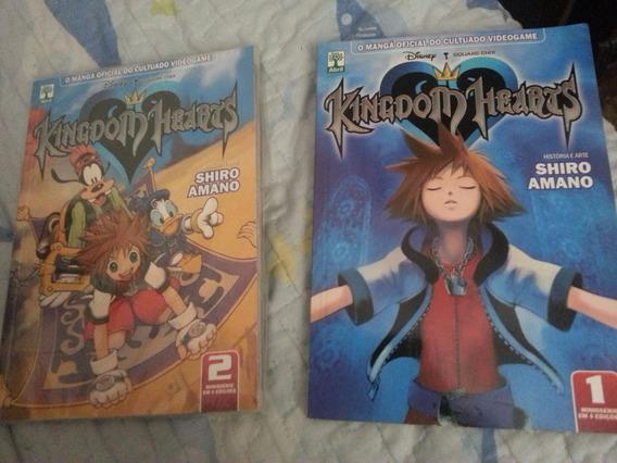 Mangá Kingdom Hearts #1 E #2