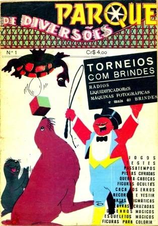 Revista Parque De Diversões Nº 1 (tecnoprint-1953) -rara