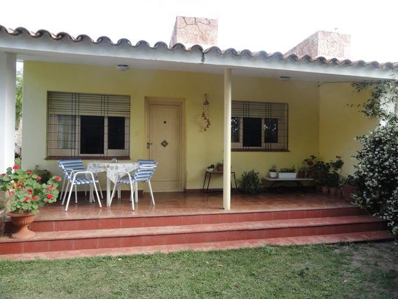 Casa 3 Dormitorios-8 Personas-asador-cocheras-amplio Parque