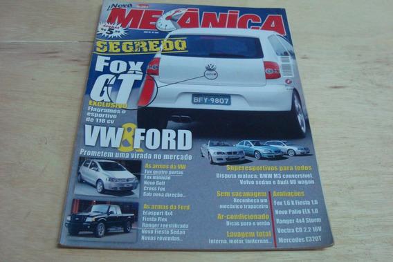 Revista Oficina Mecanica 208 / Segredo Fox Gt Ford Lavagem