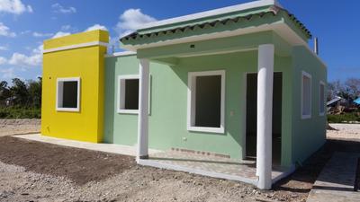 Casa Nueva Cuasi Terminada En Veron