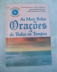 Livro: As Mais Belas Orações - Inclui Cd Carlos Vereza