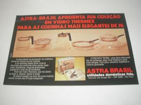 ( L - 290/ G ) Propaganda Antiga Astra Brasil