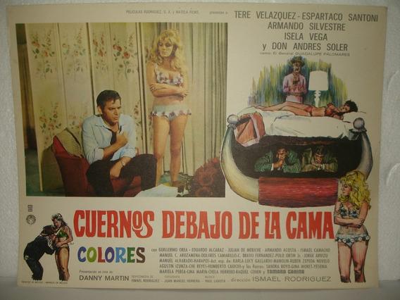 Tere Velazquez, Cuernos Debajo De La Cama ,artel De Cine